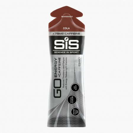 SiS GO Koffeines (75mg) energiagél - 60ml - Kóla