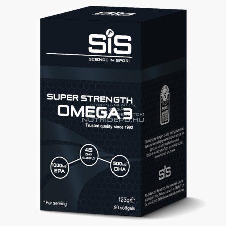 SiS Super Strength Omega 3 (1000mg) tabletta - 90db - Ízesítetlen