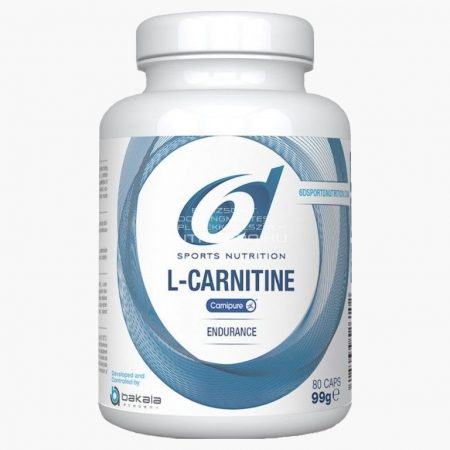 6d L-karnitin (1000mg) kapszula - 80db - Ízesítetlen