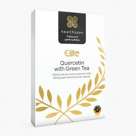 Healthspan Elite Kvercetin (333mg) & Zöld tea (40mg) kapszula - 90db - Ízesítetlen