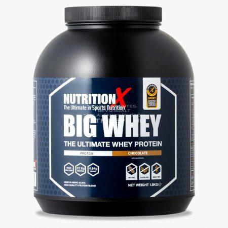 Nutrition X Big Whey tejsavófehérje italpor - 1.8kg - Csokoládé