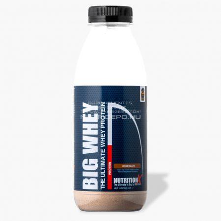 Nutrition X Big Whey tejsavófehérje italpor - 30g - Csokoládé