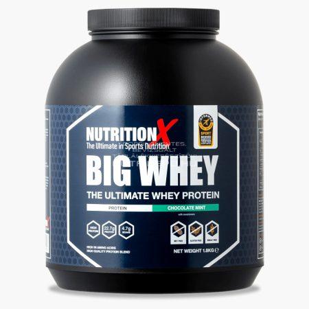 Nutrition X Big Whey tejsavófehérje italpor - 1.8kg - Mentás csokoládé