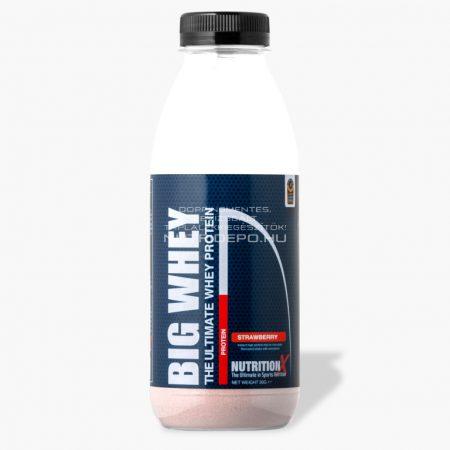 Nutrition X Big Whey tejsavófehérje italpor - 30g - Eper