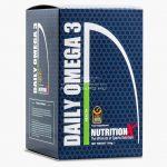Nutrition X Omega-3 (1000mg) lágyzselatin kapszula - 120db - Ízesítetlen
