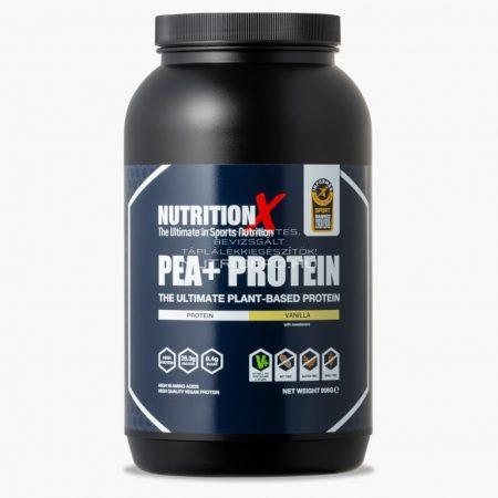 Nutrition X Pea+ vegán fehérje italpor - 908g - Vanília
