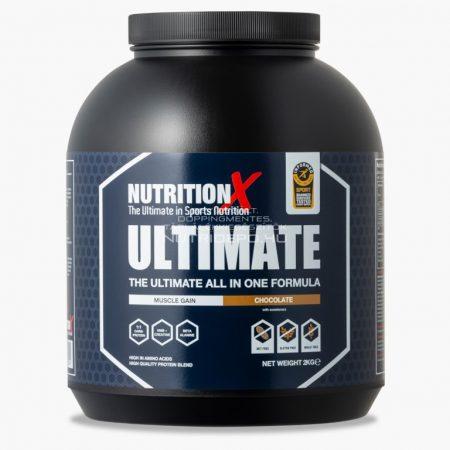 Nutrition X Ultimate fehérje italpor - 2kg - Csokoládé