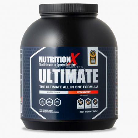 Nutrition X Ultimate fehérje italpor - 2kg - Eper