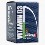 Nutrition X D3-vitamin (2000NE) tabletta - 120db - Ízesítetlen