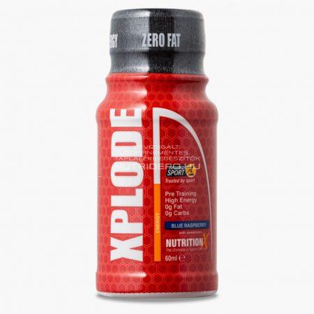 Nutrition X XPLODE koffein (250mg) ital - 60ml - Kék málna