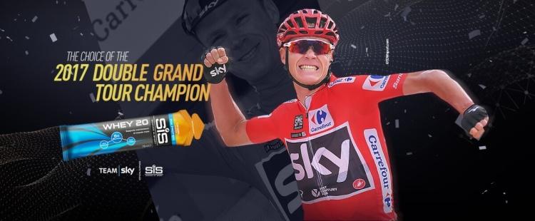 Chris Froome a 2017-es Tour de France és a Vuelta győztes választása