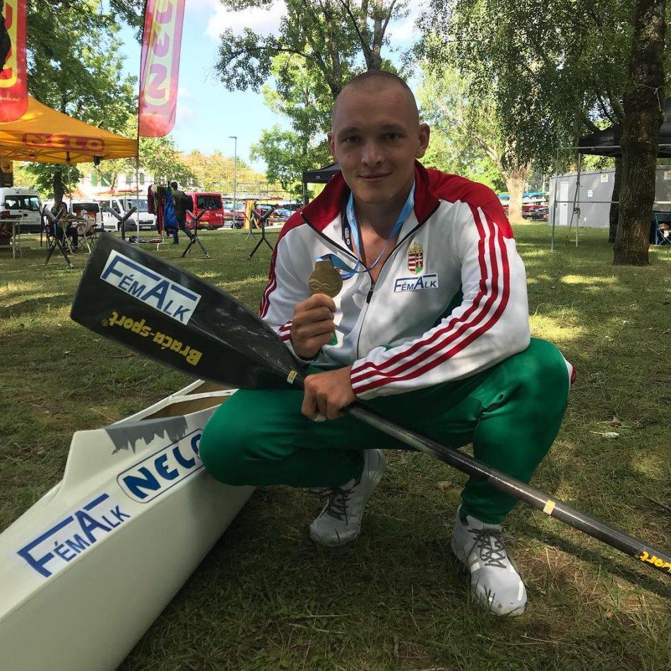 Dóczé Ádám az országos bajnokságon aranyérmet szerzett