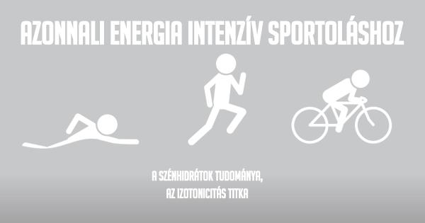 Azonnali Energia Intenzív Sportoláshoz a Science in Sport (SiS) táplálékkiegészítők segítségével