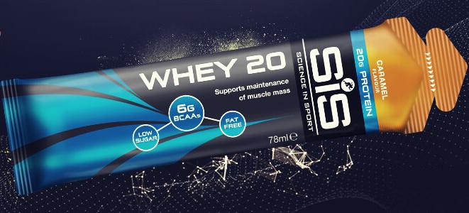 SiS WHEY20 fehérjegél - karamell