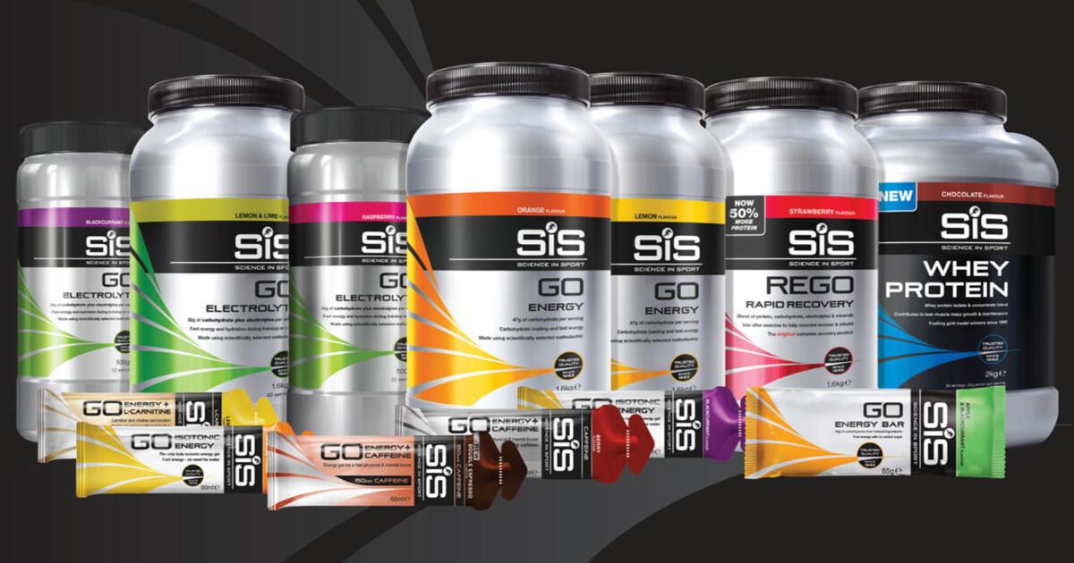 Science in Sport (SiS) táplálékkiegészítők: energiaszeletek, gélek, fehérjék, regeneráló italporok, energia és elektrolit italporok és még sok minden más