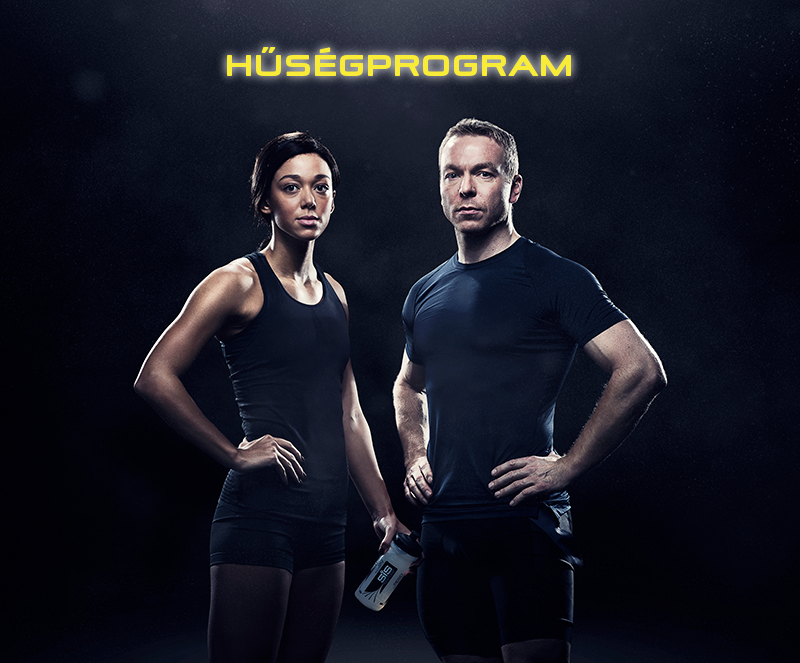 Hűségprogram - Katarina Johnson-Thompson (hétpróbázó) és Sir Chris Hoy (6x-os Olimpiai Bajnok, 11x-es pályakerékpáros Világbajnok)